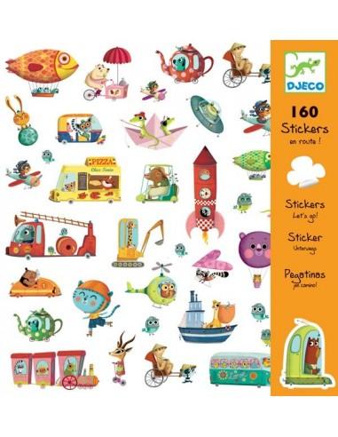 Stickers en route - Djeco
