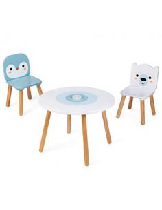 Table et chaises Banquise -...