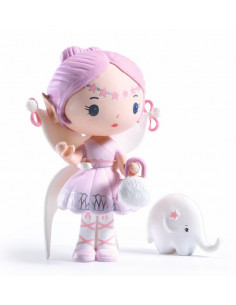 Elfe et Bolero figurines...