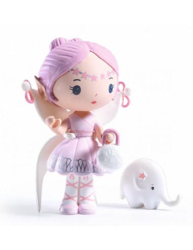 Elfe et Bolero figurines Tinyly - Djeco