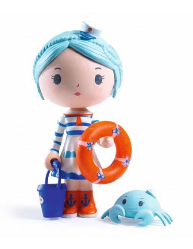 Marinette et scouic figurines Tinyly...