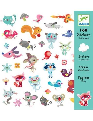 Stickers petits amis - Djeco