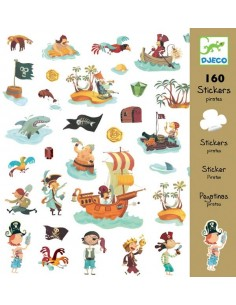 Stickers pirates - Djeco