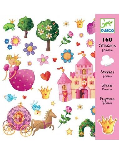 Stickers princesse Marguerite - Djeco