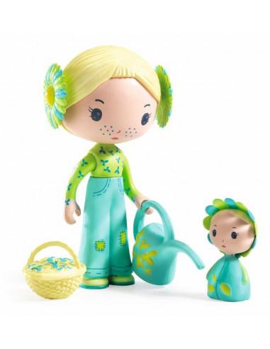 Flore et Bloom figurines Tinyly - Djeco