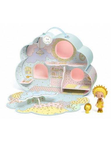 Maison de Sunny et Mia figurines...
