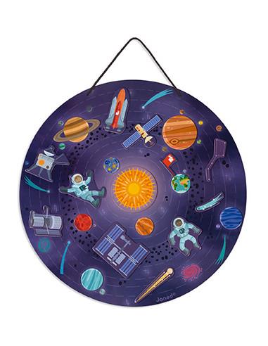 Carte magnétique du système solaire -...