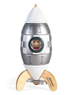 Kit magnet fusée argentée -...