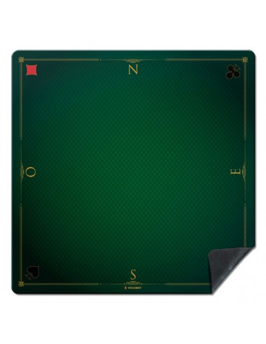 Tapis de jeu prestige vert