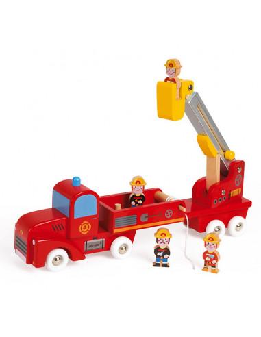 Grand camion de pompiers Story - Janod