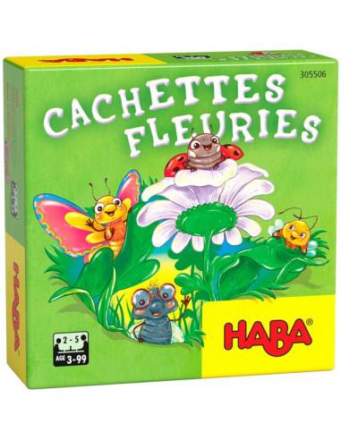Cachettes fleuries - Mini jeu Haba