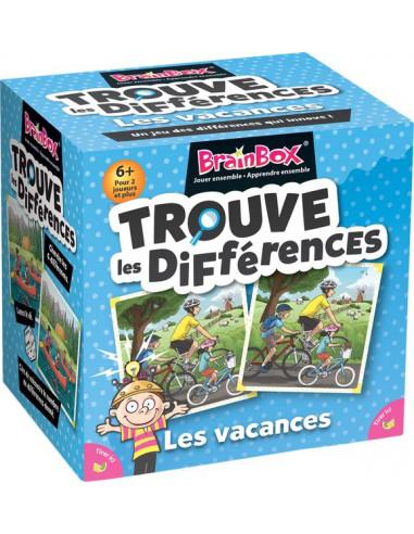 Brainbox trouve les différences vacances