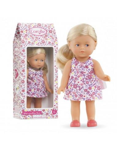 Mini poupée Corolline Rosy blonde -...
