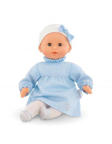 vetement pour poupée corolle 30 et 36 cm 2 paire chaussons couleur rose et lait