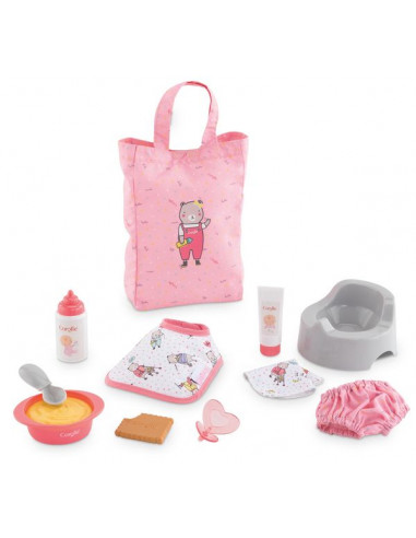 Coffret d'accessoires pour poupée -...