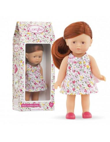 Mini poupée Corolline Ruby rousse -...