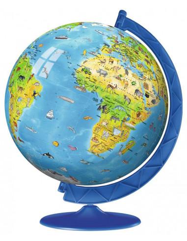 Puzzle 3D globe 180 pièces -...