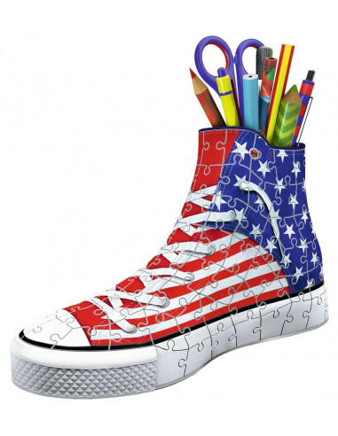 Puzzle 3D sneaker American style -...