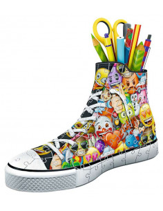 Puzzle 3D sneaker émoji -...
