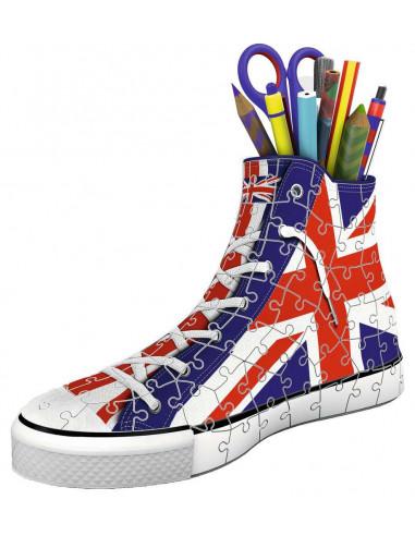 Puzzle 3D sneaker Union Jack -...