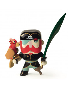 Figurine pirate Arty Toys Sam Parrot