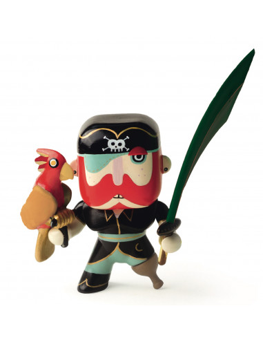 Figurine pirate Arty Toys Sam Parrot...