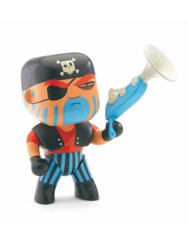 Figurine pirate Arty Toys Jack Skull...