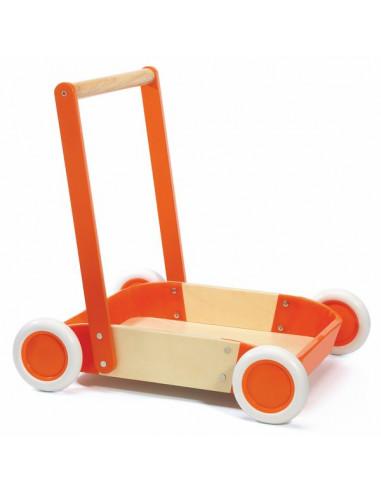 Chariot de marche Orange trott'it -...