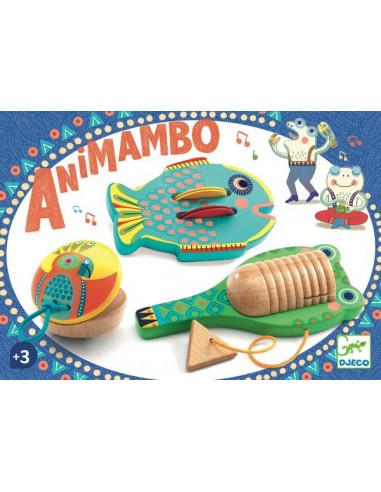 Set de 3 percussions Animambo - Djeco