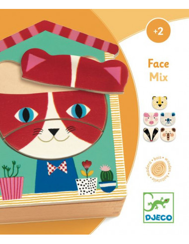 Puzzles face mix - Djeco