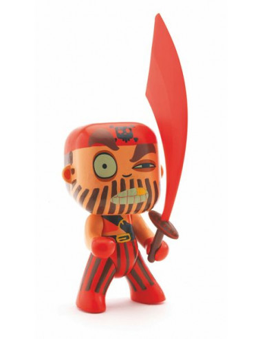 Figurine pirate Arty Toys Captain Red...