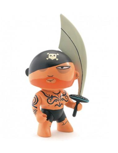 Figurine pirate Arty Toys Tatoo - Djeco