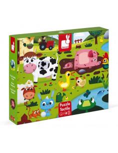 Puzzle tactile les animaux...