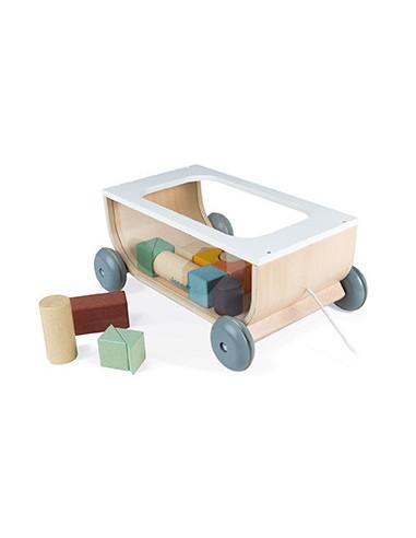 Chariot de cubes Sweet Cocoon - Janod