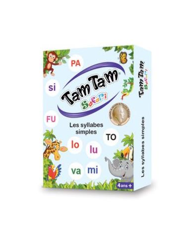 Jeu Tam Tam Safari Les syllabes