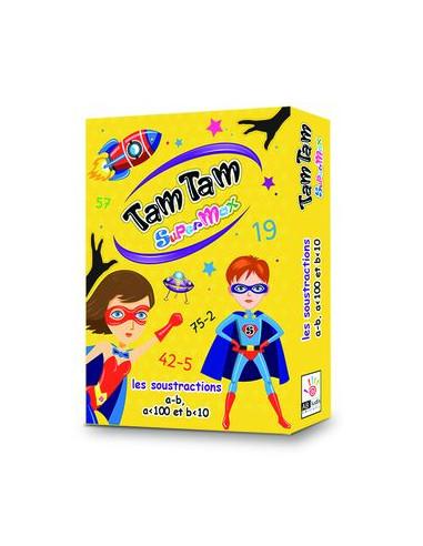 Jeu Tam Tam Supermax Les soustractions