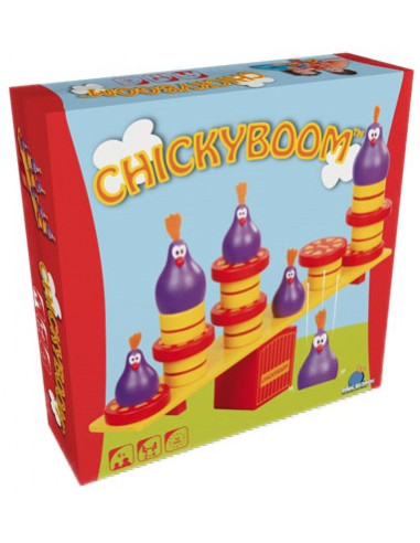 Jeu ChickyBoom - Blackrock éditions