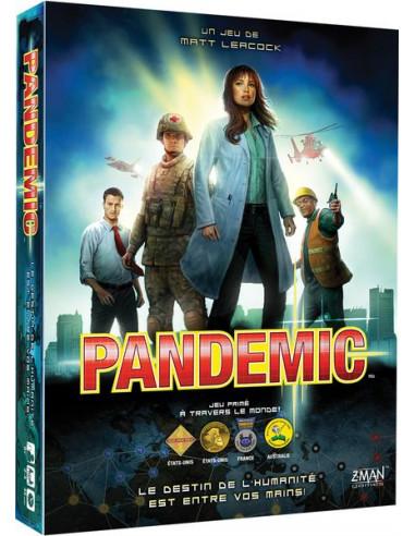 Jeu Pandémic