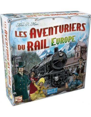 Les aventuriers du rail Europe - jeu...