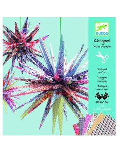 Kirigami boules de papiers