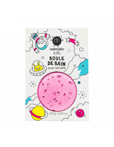 Boule de bain rose violet - Nailmatic