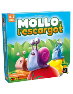 Mollo l'escargot - jeu Gigamic