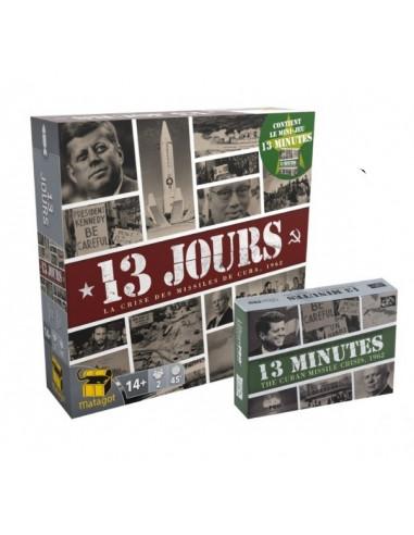 13 jours et 13 minutes - jeu Matagot