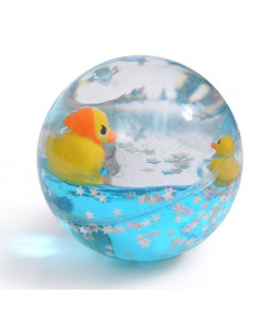 Balle rebondissante canard...