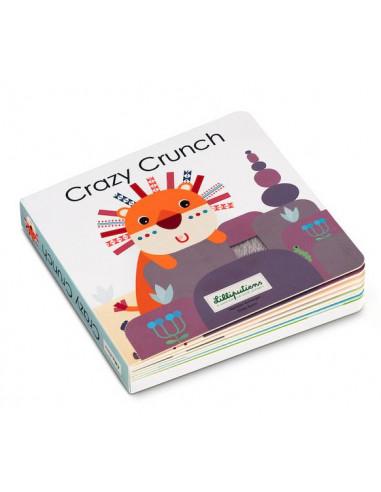 Crazy Crunch livre tactile et sonore...