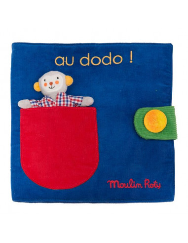 Livre tissu au dodo Les popipop -...
