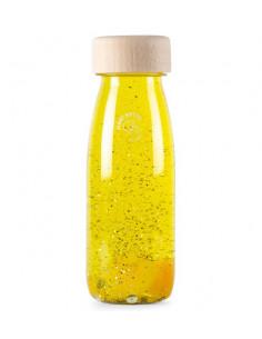 Bouteille sensorielle jaune