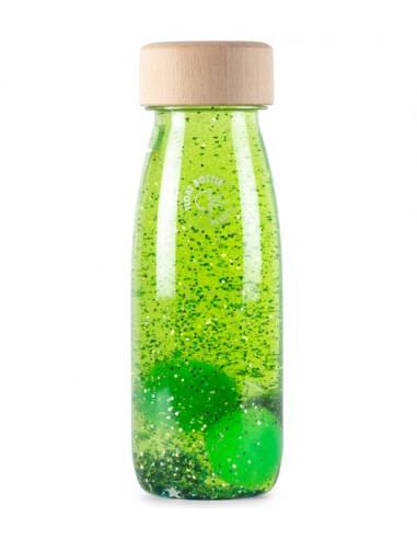 Bouteille sensorielle vert - Petit Boum