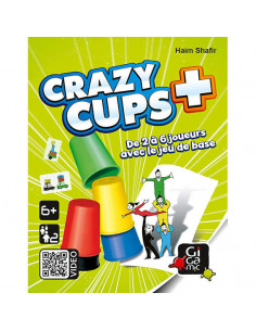 Jeu Crazy cups + - Gigamic