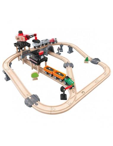 Circuit de train de la mine - Hape